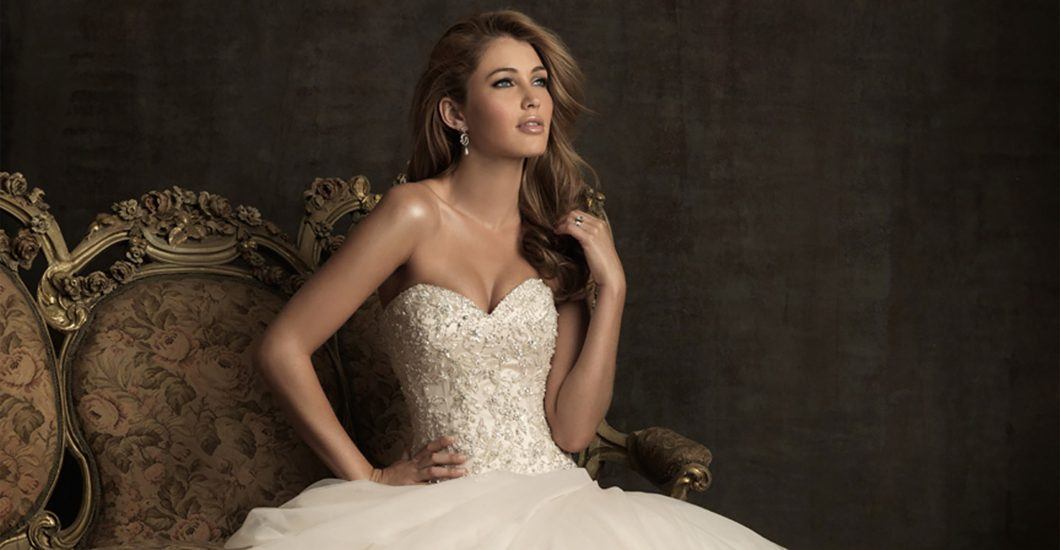Allure Bridals Trunk Show – Sept 6, 7, 8, 2018 – Girls in White Satin